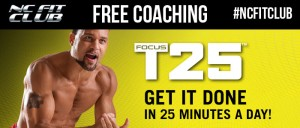 How Many Calories Does Focus T25 Burn? | NC Fit Club