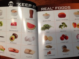 pictures of the focus t25 nutrition guide